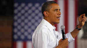 During his three-day bus tour recently, President Obama discussed job creation. At one town hall, he mentioned a training program in Georgia that allows companies to train prospective employees temporarily while they still receive an unemployment check.