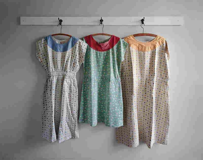 Patient dresses, Clarinda State Hospital, Iowa