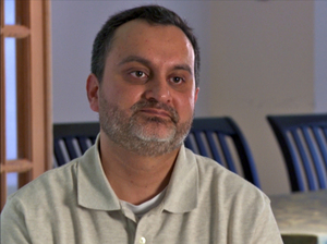 Najam Qureshi's father came under suspicion at the Mall of