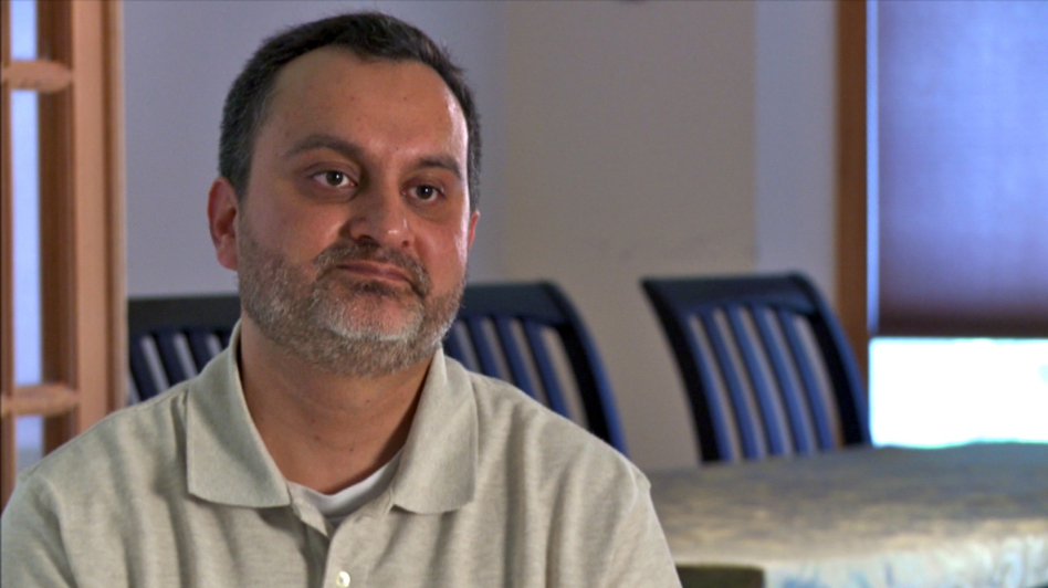 Najam Qureshi's father came under suspicion at the Mall of America after leaving his cellphone in the food court. (Center for Investigative Reporting)