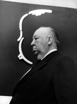 Alfred Hitchcock, seen here in 1972, made films that were of their time, but stood out even then.