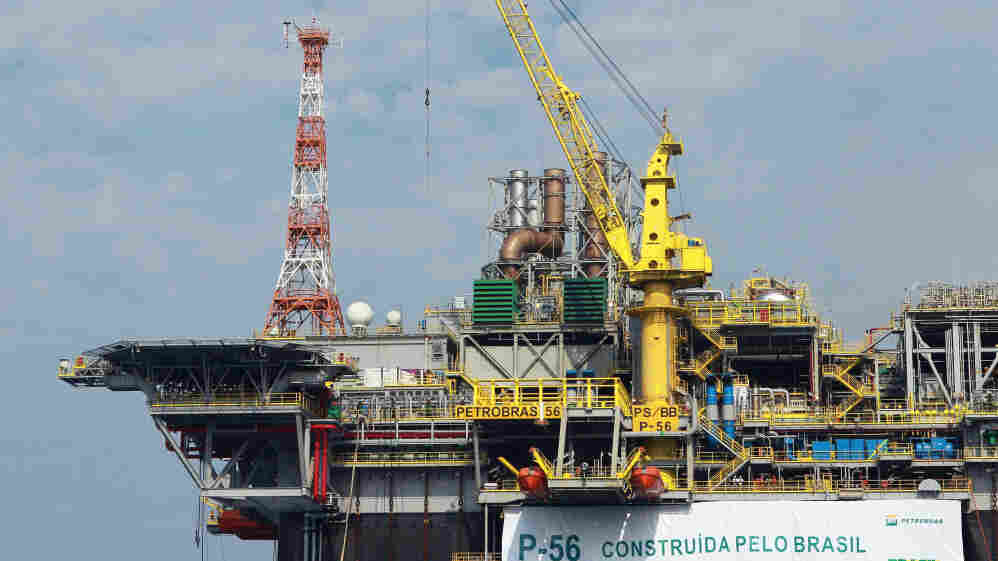 Brazil's energy company, Petrobras, inaugurated a new offshore platform on June 3 in Angra dos Reis. Brazil has located major offshore oil fields and plans to greatly increase production in the coming years.