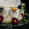 Cypress Grove's goat cheese wedding cake