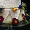 Cypress Grove's goat cheese wedding cake