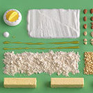 Ingredients for Bondkakor (Farmer Cookies)