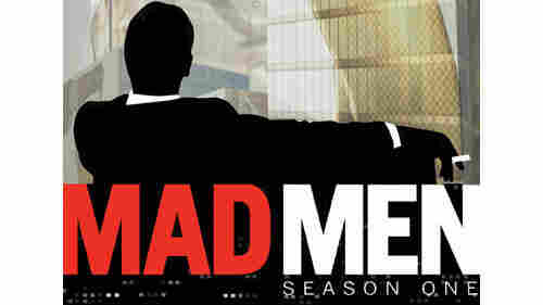 The season one cover of Mad Men on DVD.