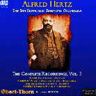 cover art for Alfred Hertz conducts the San Francisco Symphony