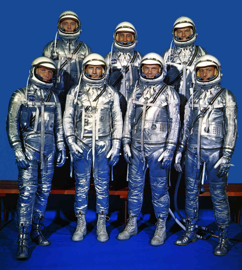 The Mercury 7, NASA's original astronauts, in 1959. More than 50 years later, the agency still needs astronauts — and in fact needs a few more than it has — a panel says.
