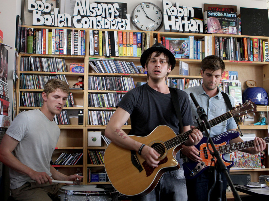 Andrea Echeverri: Foster The People: Tiny Desk Concert : NPR