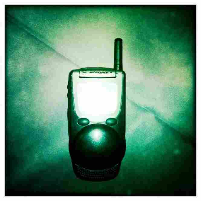 The cellphone used by New York mayor Rudolph Giuliani on Sept. 11, 2001