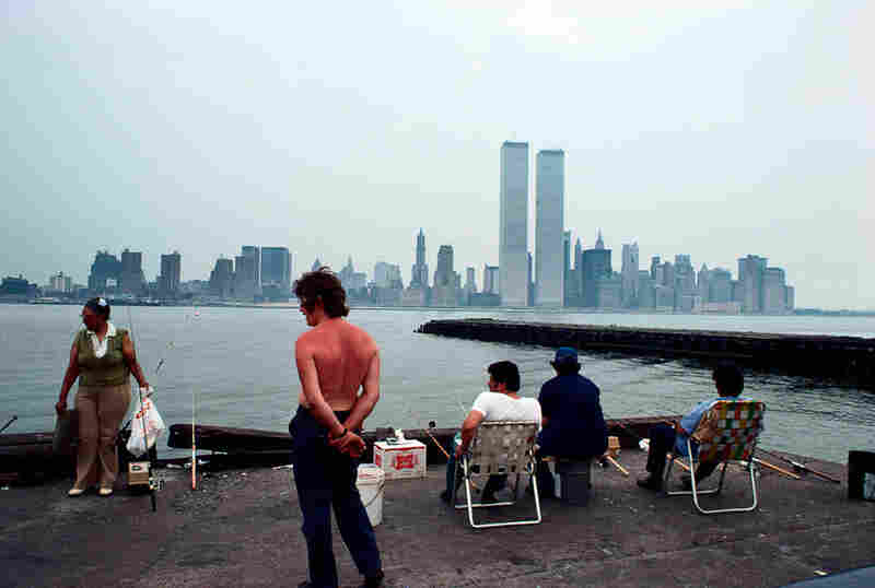 View from Exchange Place, Jersey City, N.J., 1977