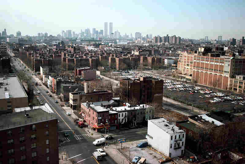 View from Park Avenue and Tomkins Avenue, Brooklyn, 1988