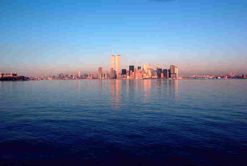 View from the Staten Island Ferry, 1989