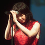 Bjork performing at Radio City Music Hall in New York City on Oct. 4, 2001.
