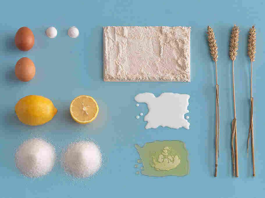 Ingredients for the the Sockerkaka cake