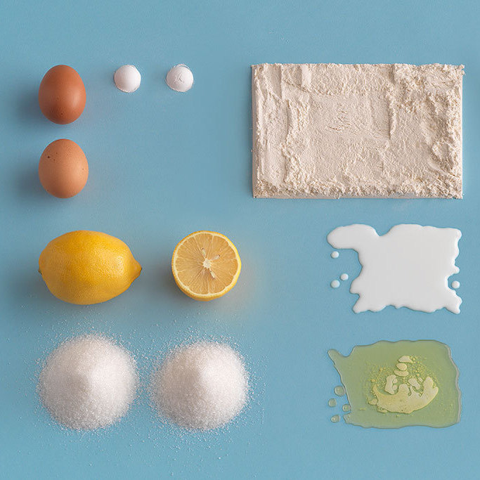Ingredients for the the Sockerkaka cake