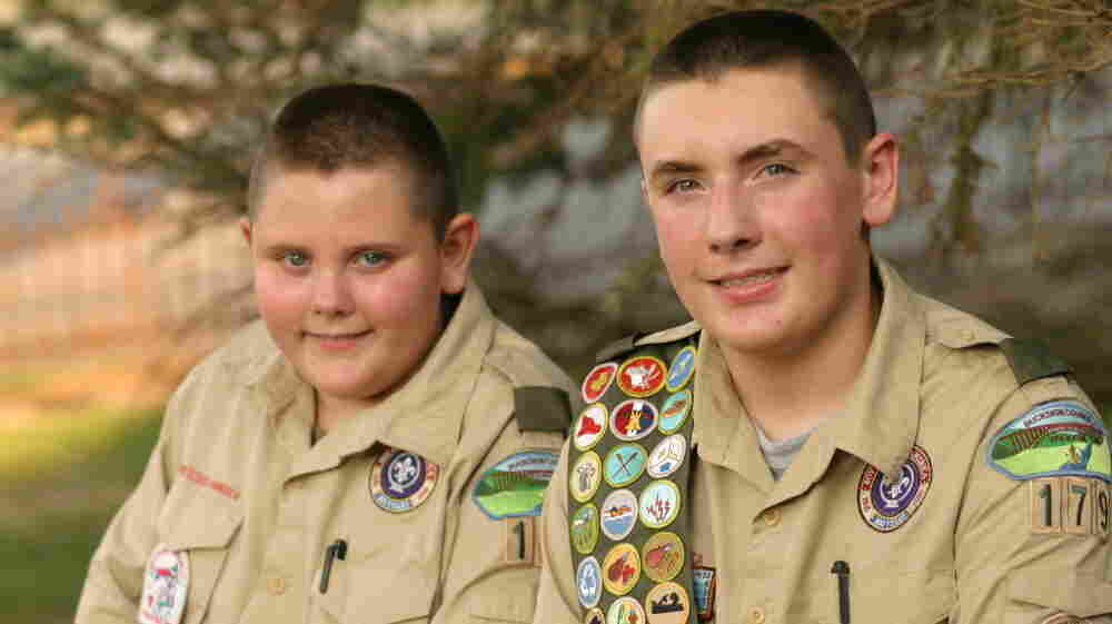 Christopher Lechalk, 11, and Matthew Lechalk, 14, of the Fayetteville, W.Va., Boy Scouts say they are looking forward to the new camp.