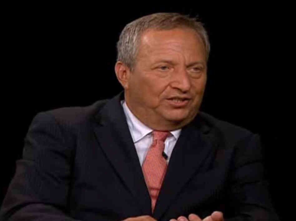 Lawrence Summers on Charlie Rose Show
