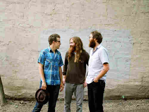 """Megafaun's """"Get Right"""" is a sprawling eight-minute   psychedelic drone, punctuated with dazzling electric-guitar fuzz."""
