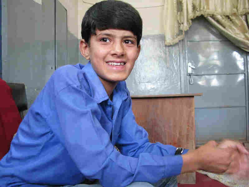 Mujib Zozai, a 13-year-old student at Nadera high school in Kabul, wants to be a pilot when he grows up. He has no personal memories of Sept. 11, 2001, and no real understanding of how it is connected to the arrival of U.S. troops in Afghanistan.