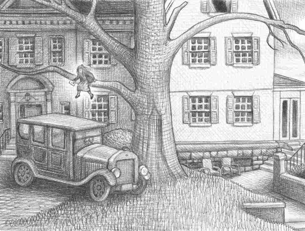 Illustration from Wonderstruck (pages 60-61), by Brian Selznick