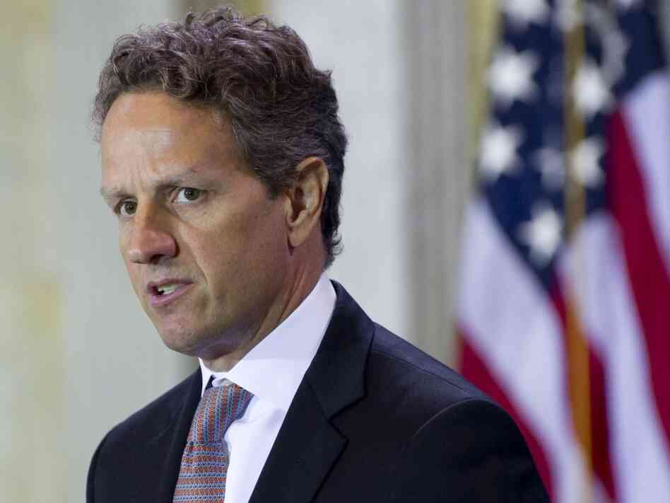 Treasury Tim Geithner said the president's proposal to spend on roads and other infrastructure would give a lift to the labor market over a longer stretch of time.