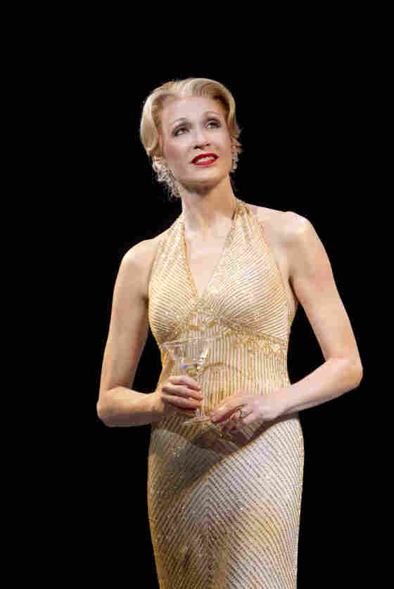 Dressy And Juicy: Jan Maxwell plays socialite and former showgirl Phyllis Rogers Stone, one of four deeply unhappy characters at the show's center.
