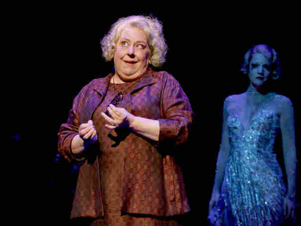 On Some Marquee: Jayne Houdyshell plays Hattie Walker, a onetime hoofer who returns for one last reunion with cast mates in Follies. The lavish Stephen Sondheim musical returns to Broadway Sept. 12.