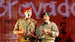 Thomas Hampson (left) stars as Rick Rescorla in the opera Heart of A Soldier, by Christopher Theofanidis, which receives its world premiere Sept. 10 at the San Francisco Opera.