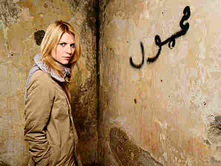 Claire Danes plays a CIA agent who suspects a heroic American POW is actually a double agent for al-Qaida in Showtime's Homeland.