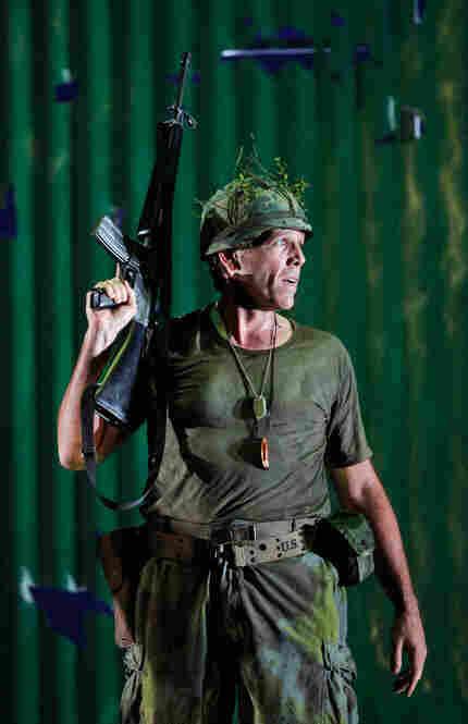 Thomas Hampson as Rick Rescorla, on the battle lines in Vietnam.
