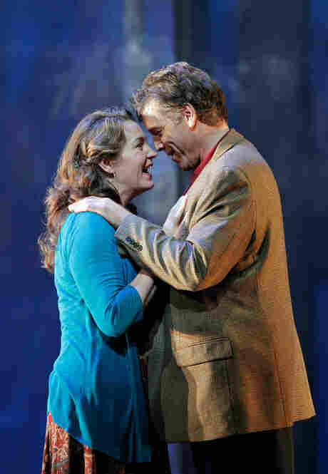 Melody Moore as Susan and Thomas Hampson as Rick.