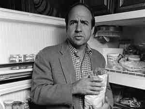 Calvin Trillin, photographed at home in New York City in 1978.