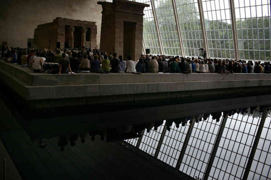 The Temple of Dendur was the setting for Remembering September 11 con