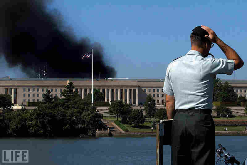 At 9:37 a.m., American Airlines Flight 77, diverted from its Washington-to-Los Angeles flight by a team of five al-Qaida-affiliated hijackers, crashed into the western-facing side of the Pentagon.