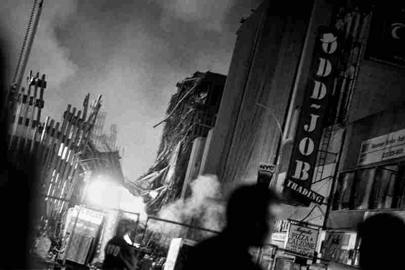 View of ground zero from Broadway.