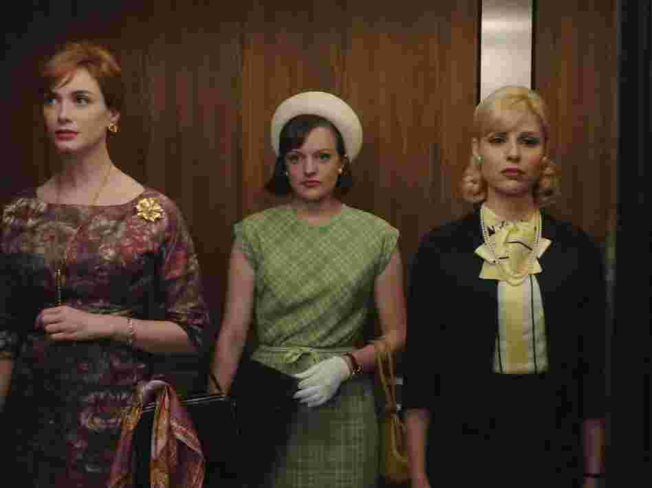 "Janie Bryant of Mad Men is nominated for an Emmy Award for costuming for the episode, ""The Beautiful Girls."""