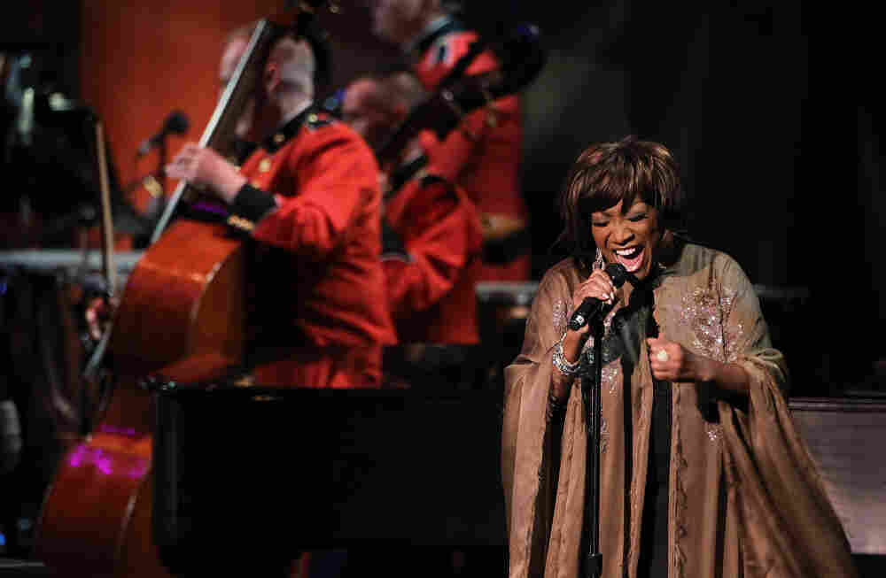"""Singer Patti LaBelle performs during the """"Concert For Hope"""" event, hosted by Washington National Cathedral, to mark the tenth anniversary of the 9/11 terrorist attacks."""