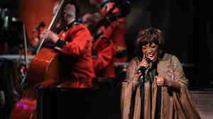 "Singer Patti LaBelle performs during the ""Concert For Hope"" event, hosted by Washington National Cathedral, to mark the tenth anniversary of the 9/11 terrorist attacks."