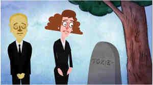 Toxie's grave