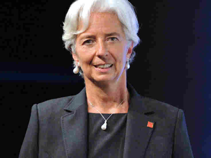 Christine Lagarde is the first woman to hold the position of director of the IMF.