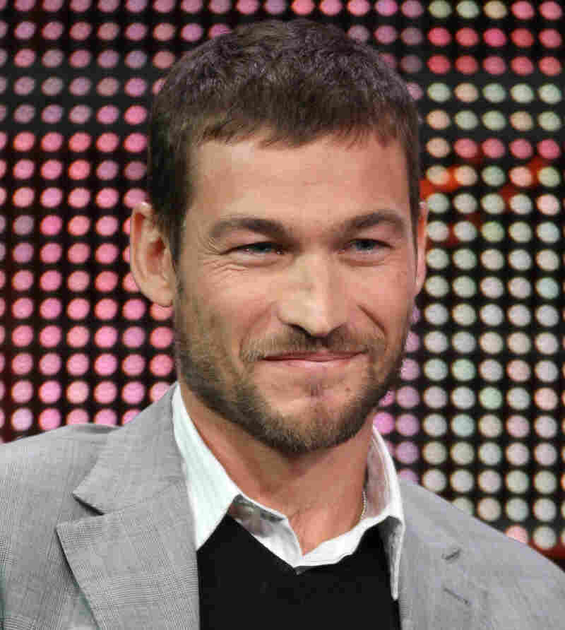 Seen here at the presentation of Spartacus: Blood And Sand to critics in January 2010, Andy Whitfield has died at 39.