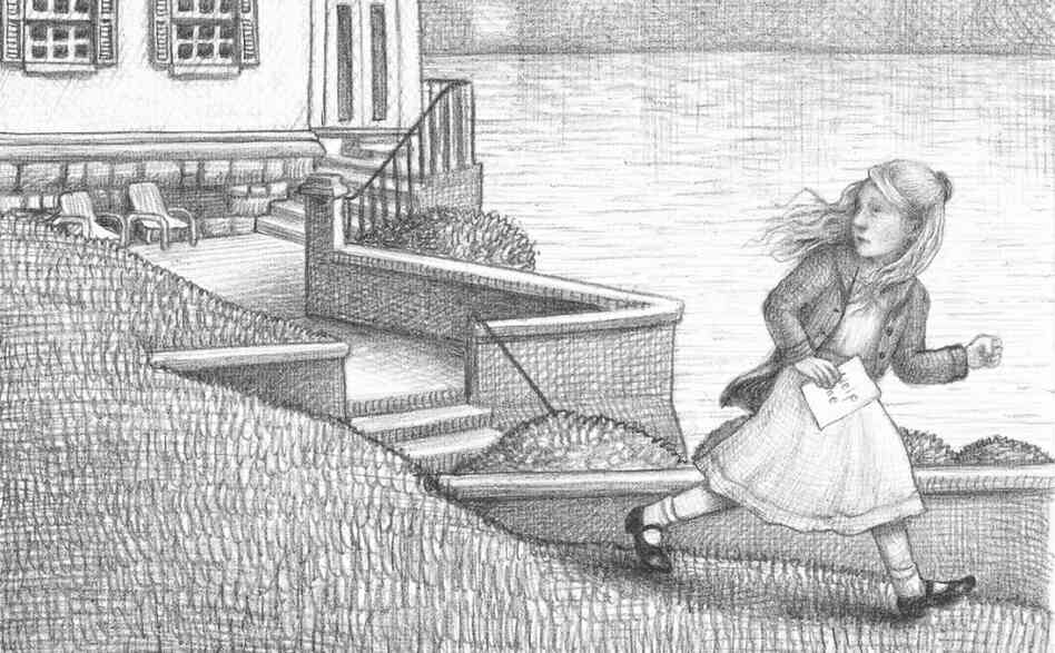 "A Wordless World: The story of Rose, a deaf little girl in Brian Selznick's Wonderstruck, is told primarily in pictures. ""We experience [Rose's] story in a way that perhaps might echo the way she experiences her own life,"" Selznick explains."