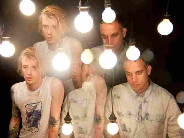 """Singer-songwriter Christopher Owens (left) and bassist-producer Chet """"JR"""" White are the core members of Girls."""