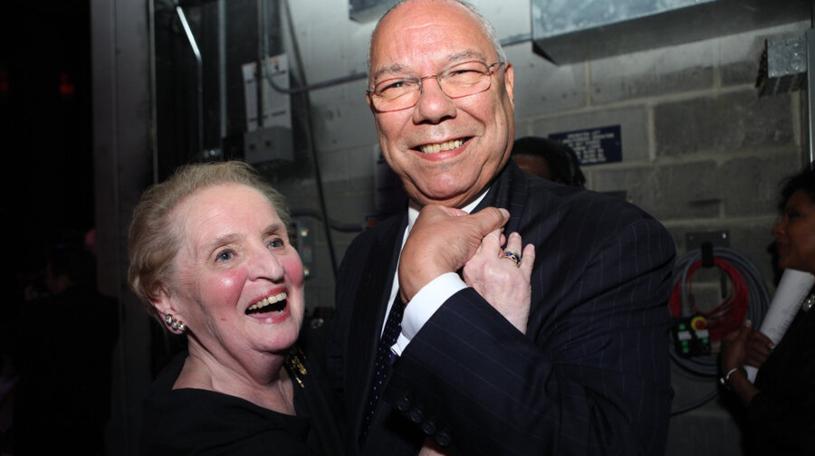 Image result for madeleine albright and colin powell