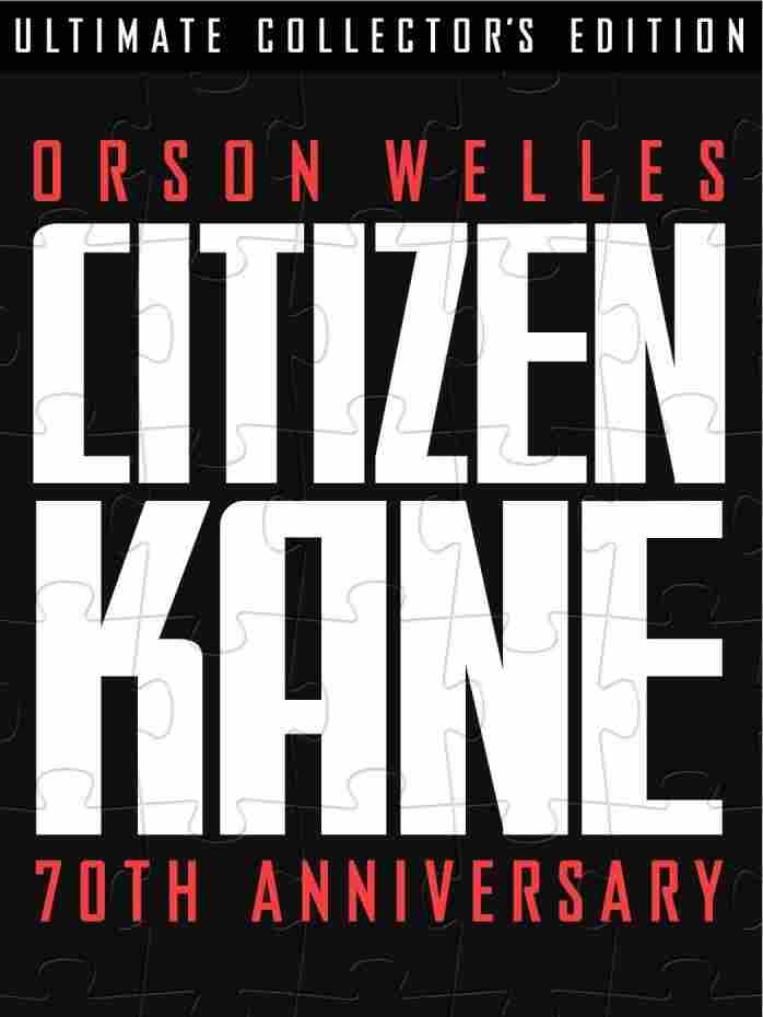 The cover of the 70th Anniversary edition of Citizen Kane.