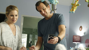"""Will Arnett and Christina Applegate play nervous new parents in the NBC sitcom Up All Night. """"It was the first time that I really identified with a character,"""" says Arnett, who has two young kids."""