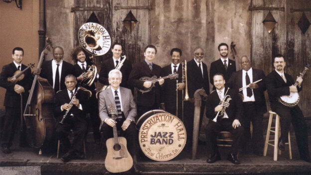 The Del McCoury Band and the Preservation Hall Jazz Band.