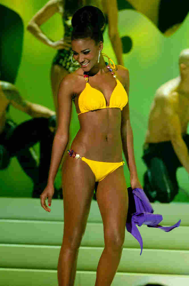 Miss Angola 2011, Leila Lopes, was named Miss Universe on Monday night.