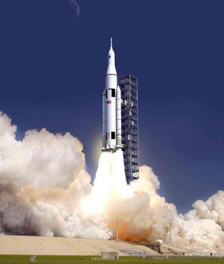NASA Unveils Next Generation 'Monster' Space Rocket : The ...